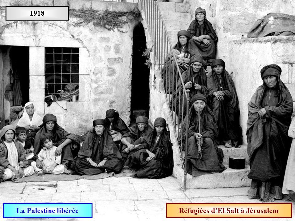 Réfugiées d'El Salt à Jérusalem