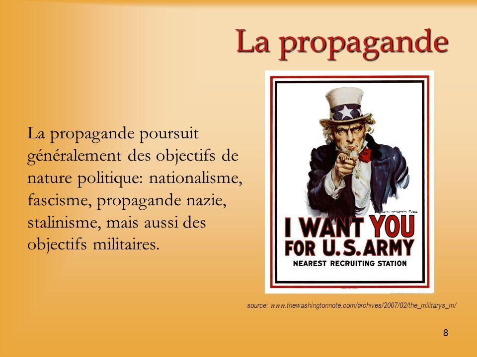 La propagande