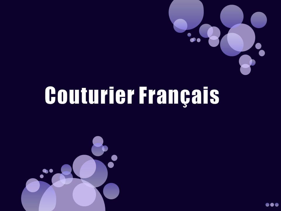 Couturier Français