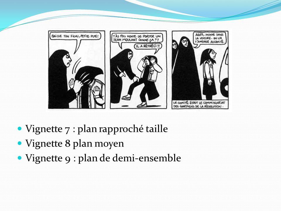 Vignette 7 : plan rapproché taille