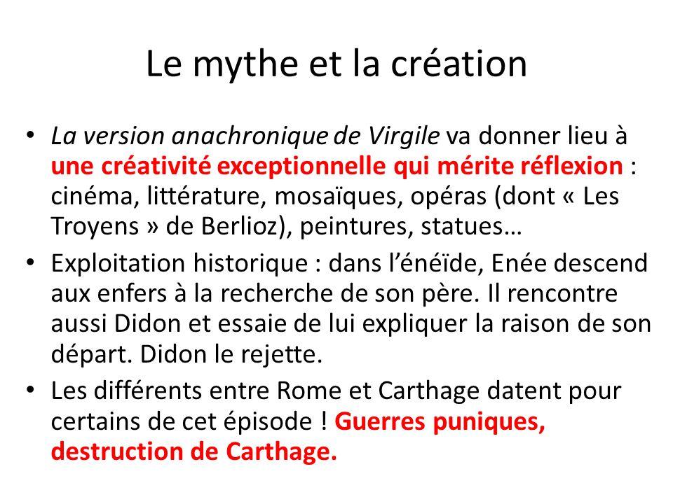 Le mythe et la création