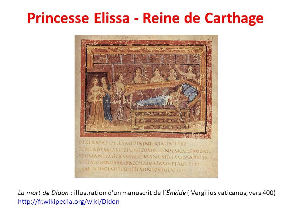 Princesse Elissa - Reine de Carthage