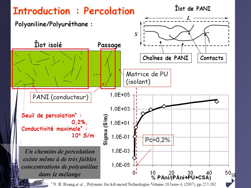 Introduction : Percolation