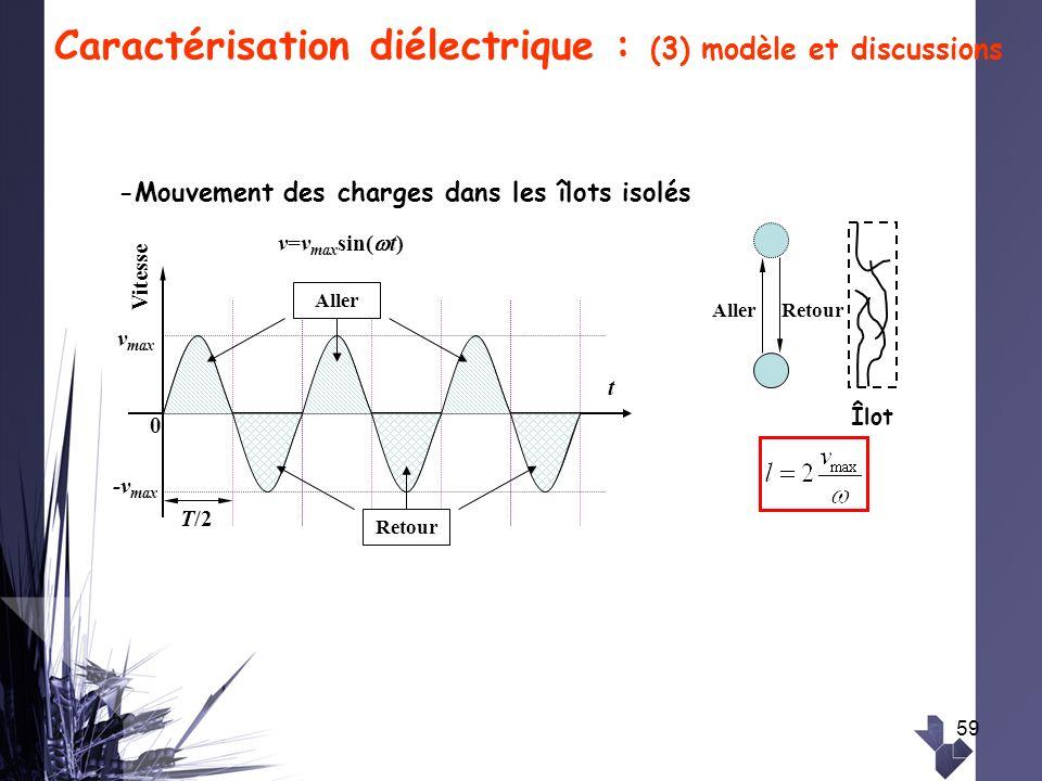 Caractérisation diélectrique : (3) modèle et discussions