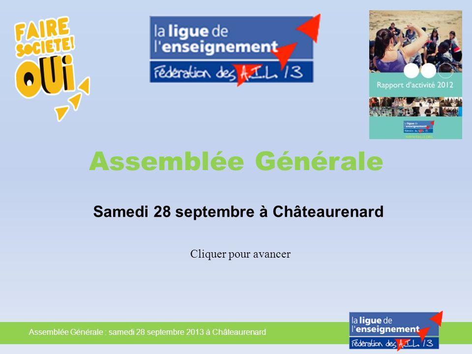 Samedi 28 septembre à Châteaurenard