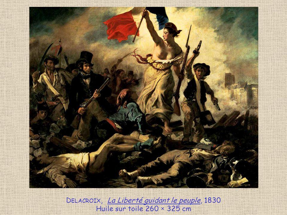 Delacroix, La Liberté guidant le peuple, 1830