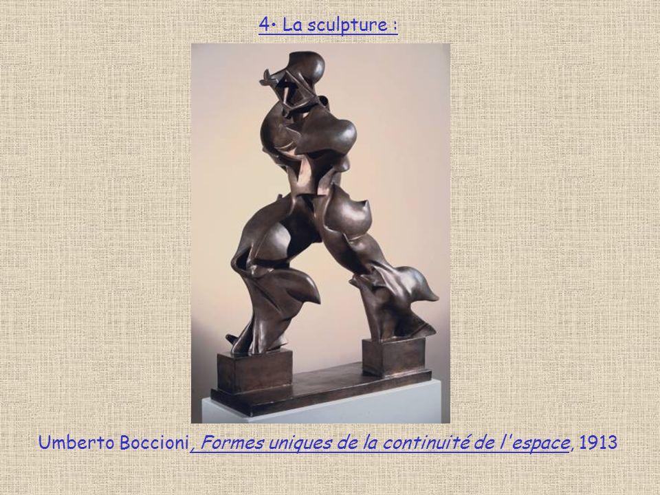Umberto Boccioni, Formes uniques de la continuité de l espace, 1913