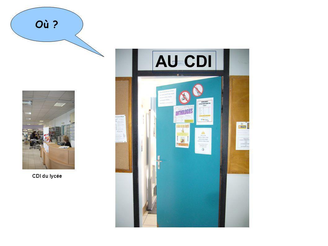 AU CDI Où Mais aussi Médiathèque J.J Rousseau 6 place Lénine
