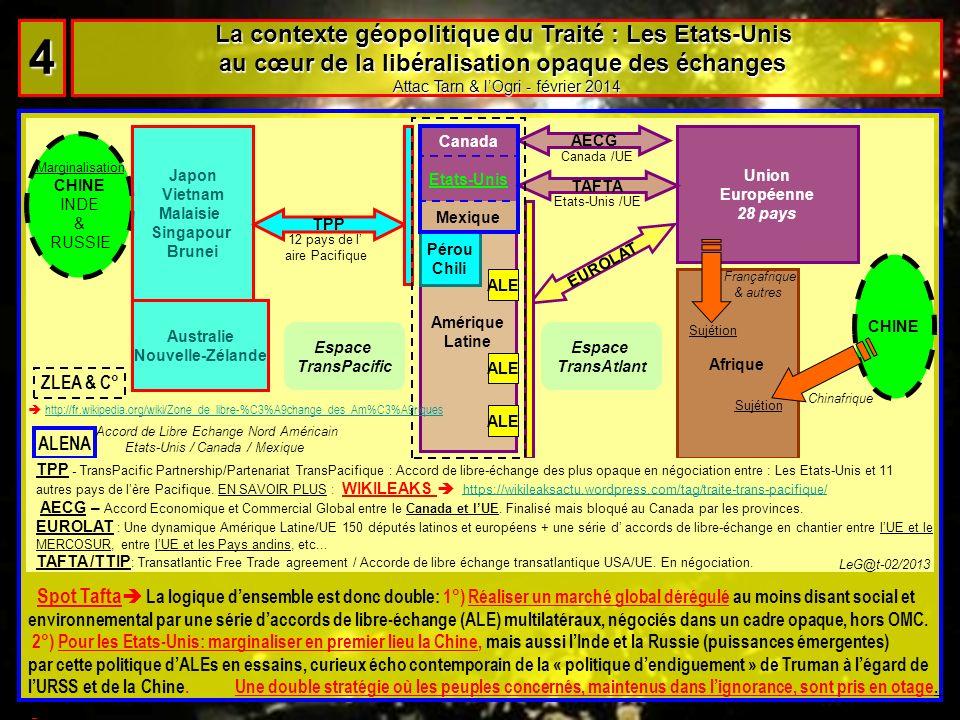 4 La contexte géopolitique du Traité : Les Etats-Unis