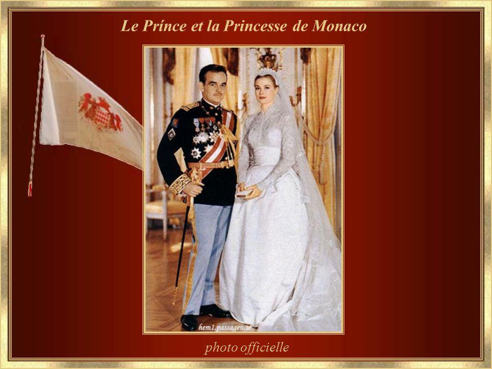 Le Prínce et la Princesse de Monaco