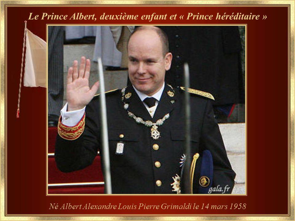 Le Prince Albert, deuxième enfant et « Prince héréditaire »