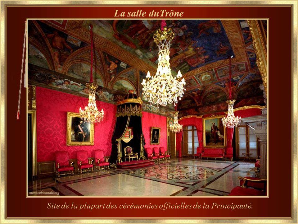 Site de la plupart des cérémonies officielles de la Principauté.