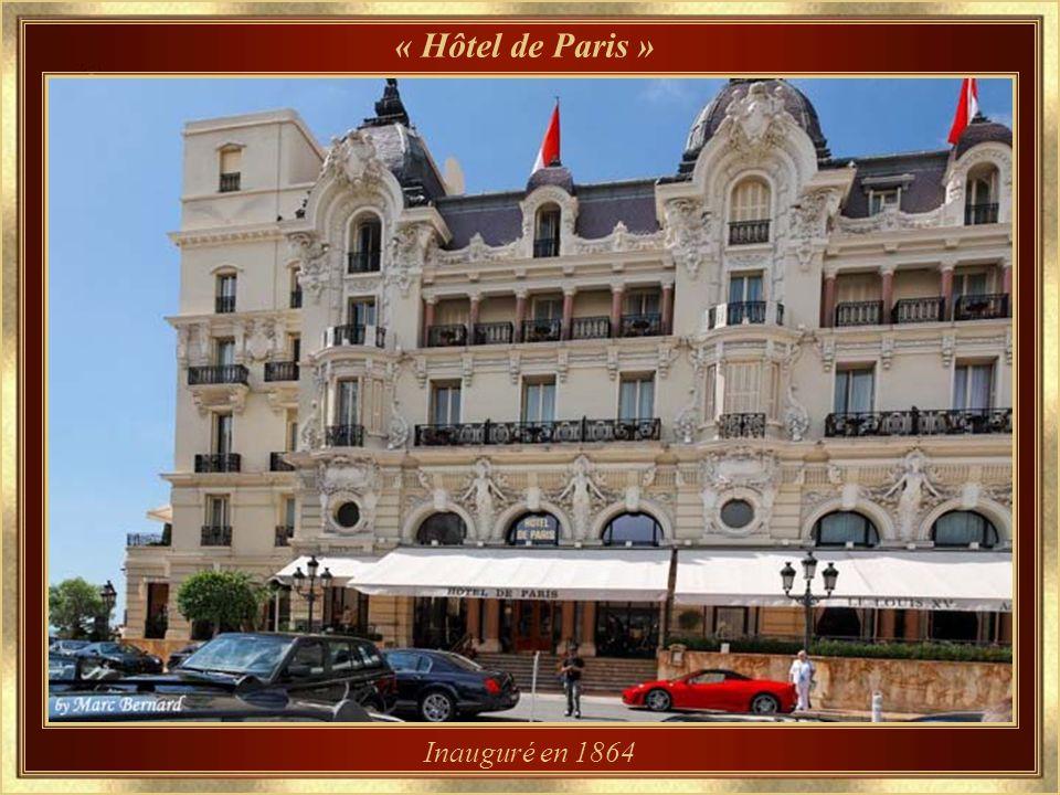« Hôtel de Paris » Inauguré en 1864