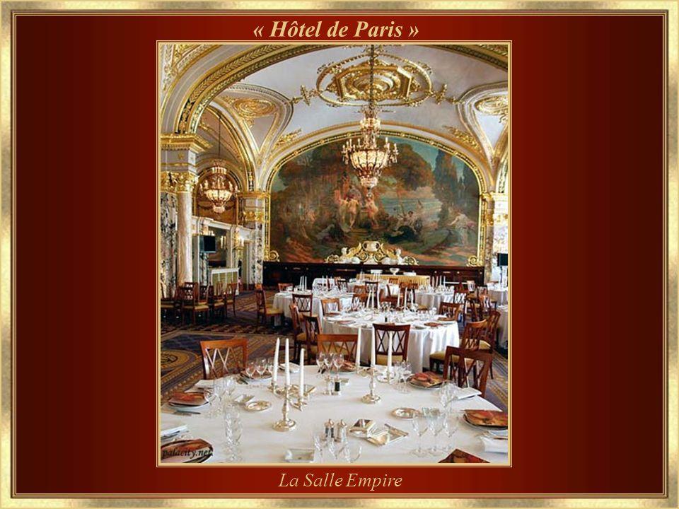 « Hôtel de Paris » La Salle Empire