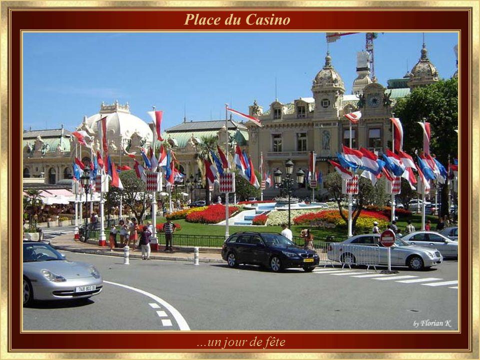 Place du Casino …un jour de fête