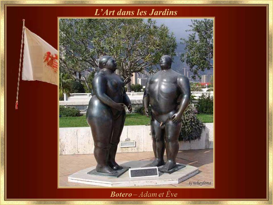 L'Art dans les Jardins Botero – Adam et Ève