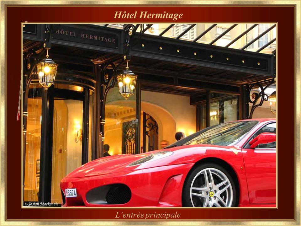 Hôtel Hermitage L'entrée principale