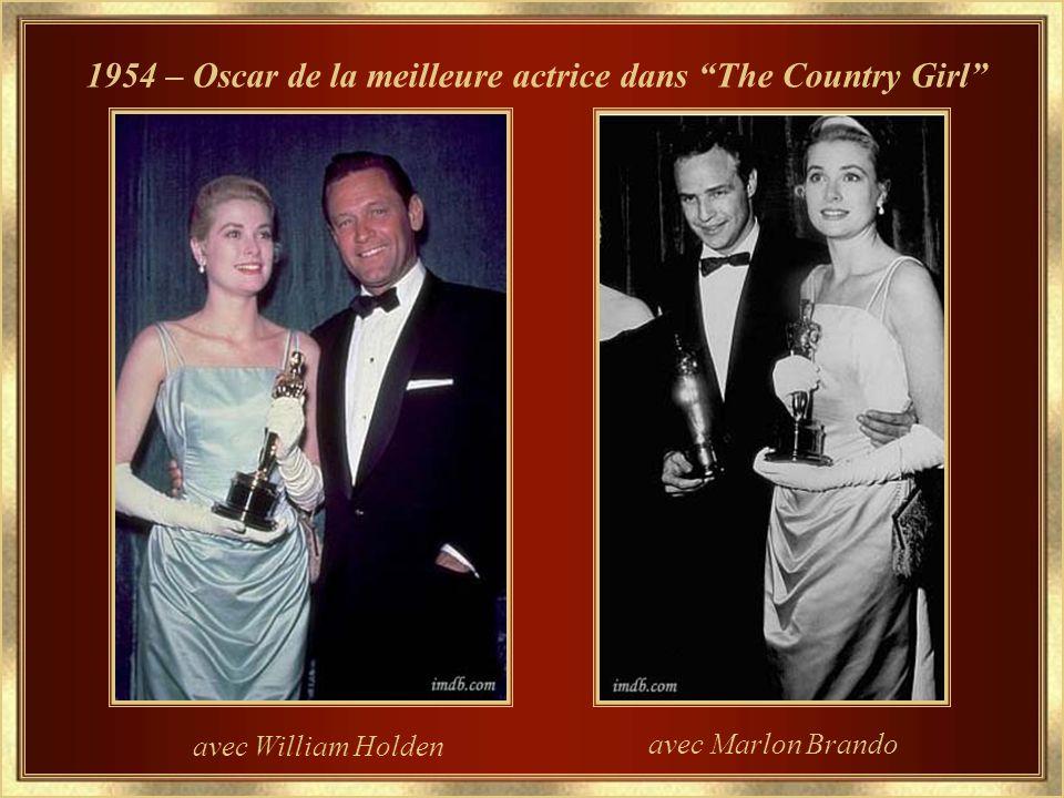 1954 – Oscar de la meilleure actrice dans The Country Girl