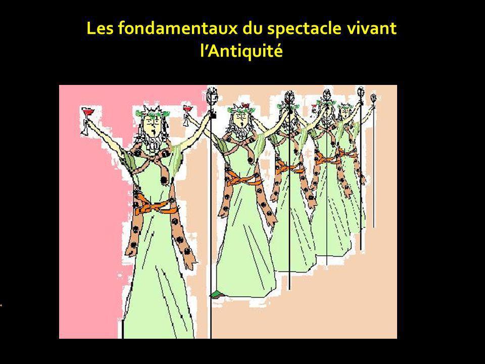 Les fondamentaux du spectacle vivant l'Antiquité
