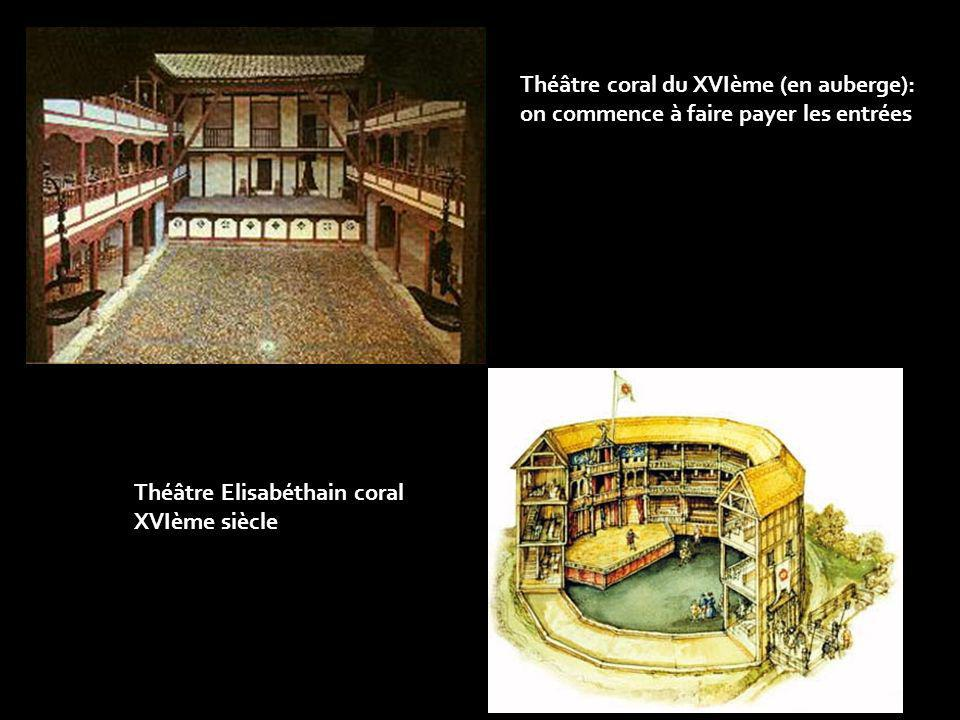 Théâtre Elisabéthain coral XVIème siècle