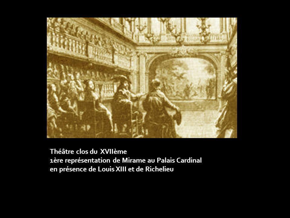 Théâtre clos du XVIIème