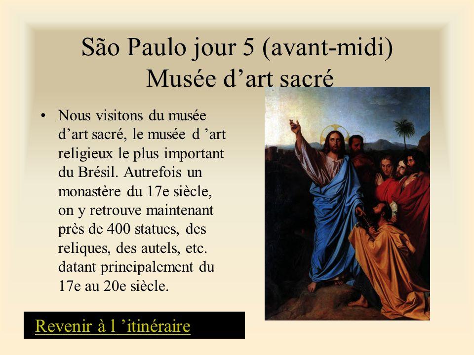 São Paulo jour 5 (avant-midi) Musée d'art sacré