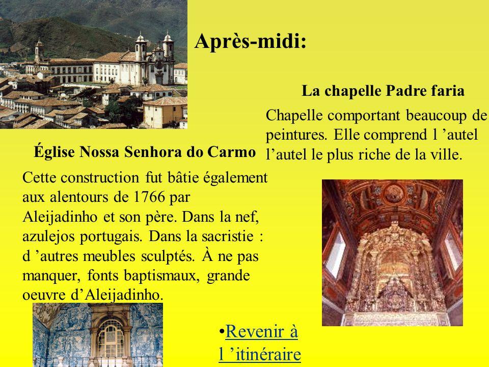 La chapelle Padre faria