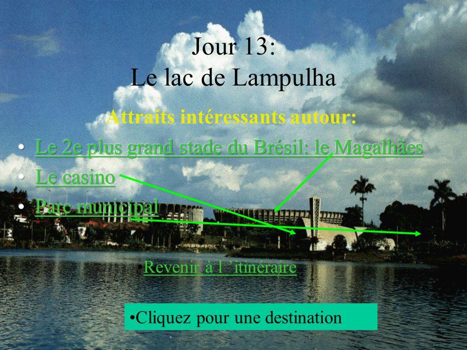 Jour 13: Le lac de Lampulha