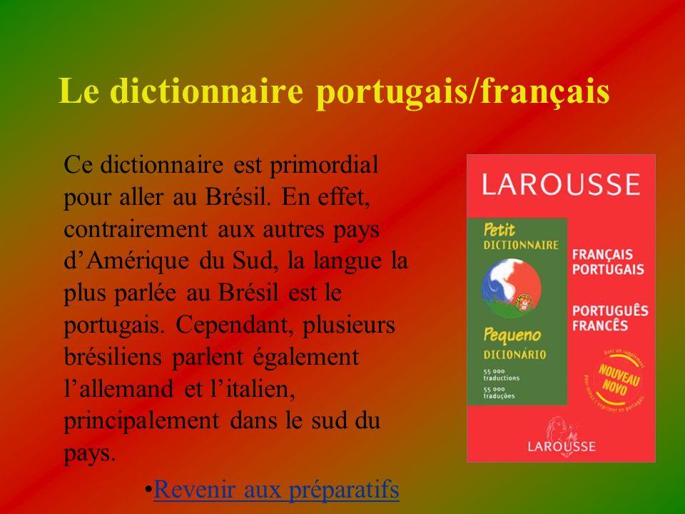 Le dictionnaire portugais/français