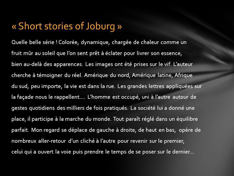 « Short stories of Joburg »