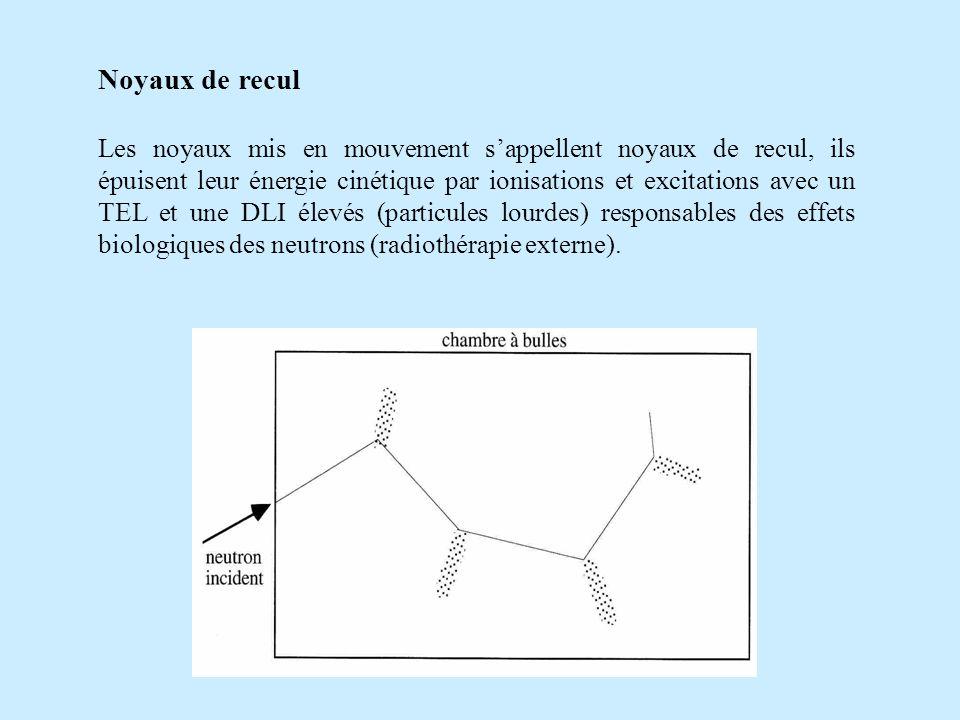 Noyaux de recul
