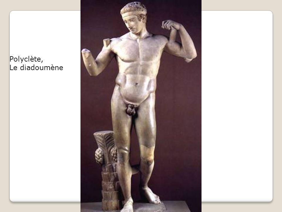Polyclète, Le diadoumène