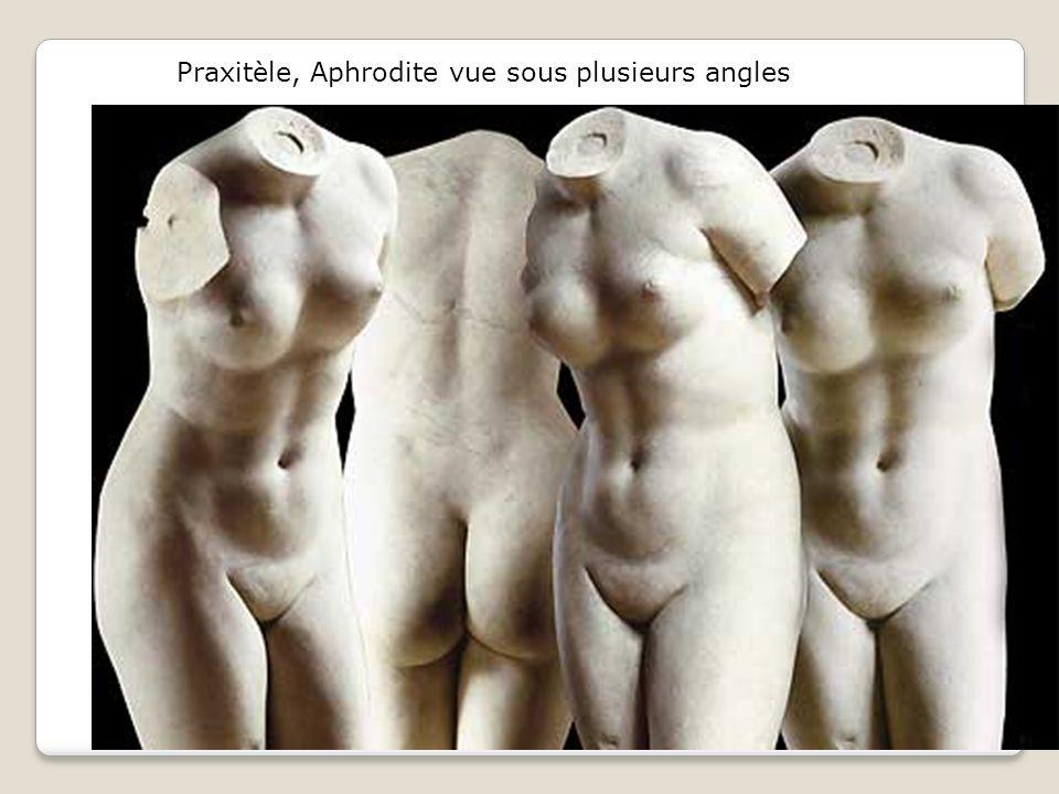 Praxitèle, Aphrodite vue sous plusieurs angles