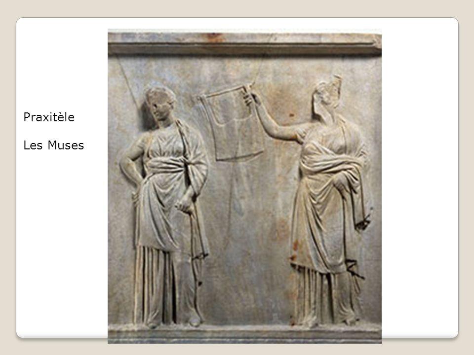 Praxitèle Les Muses