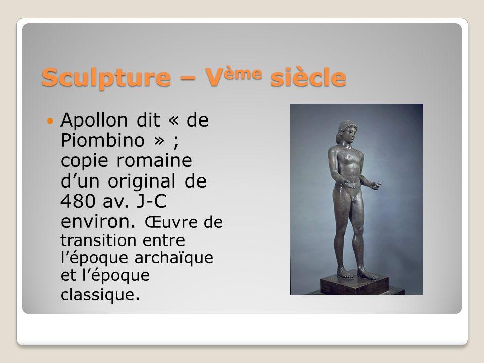 Sculpture – Vème siècle