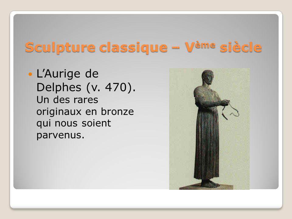Sculpture classique – Vème siècle