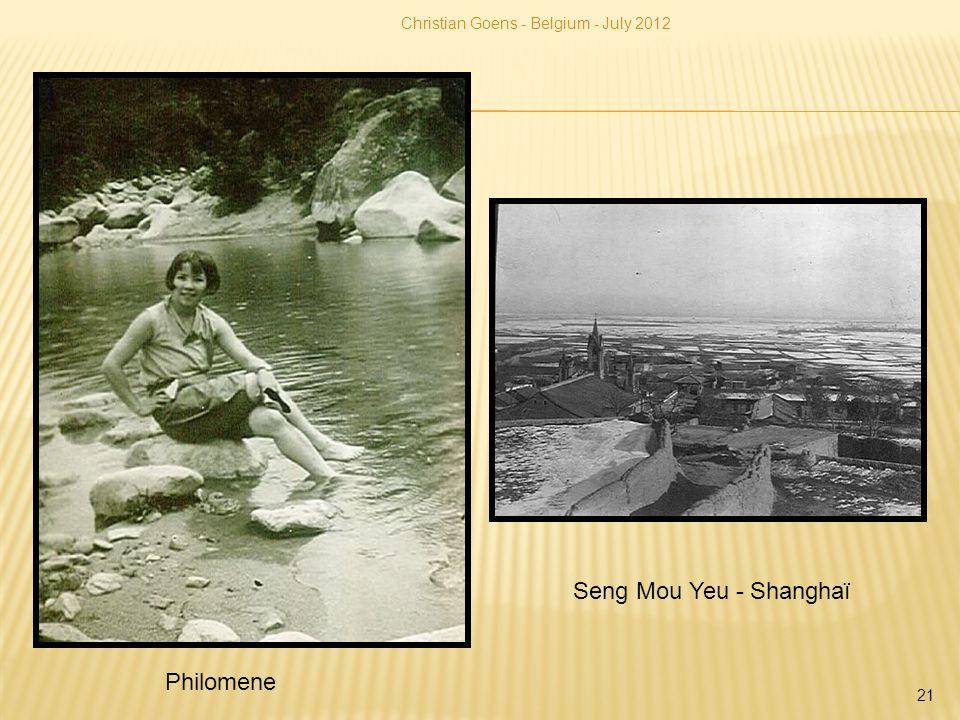 Seng Mou Yeu - Shanghaï Philomene