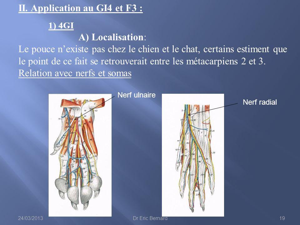 II. Application au GI4 et F3 : 1) 4GI A) Localisation: