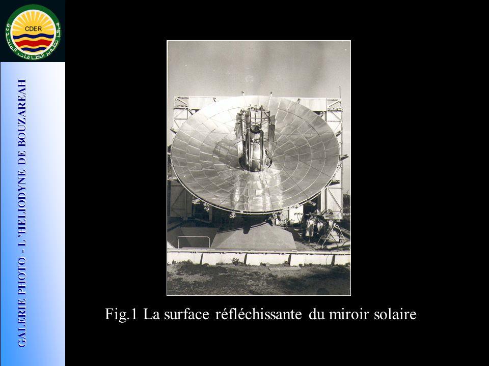 GALERIE PHOTO - L 'HELIODYNE DE BOUZAREAH