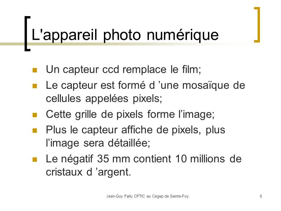 L appareil photo numérique