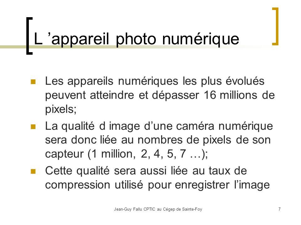 L 'appareil photo numérique