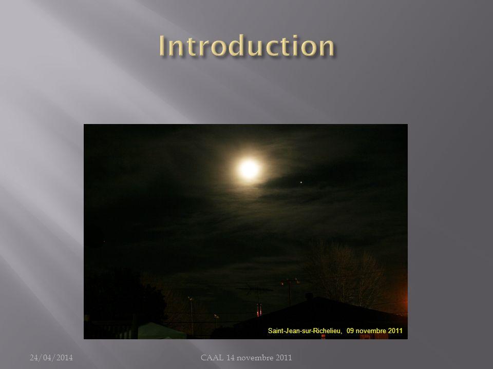 Introduction 30/03/2017 CAAL 14 novembre 2011