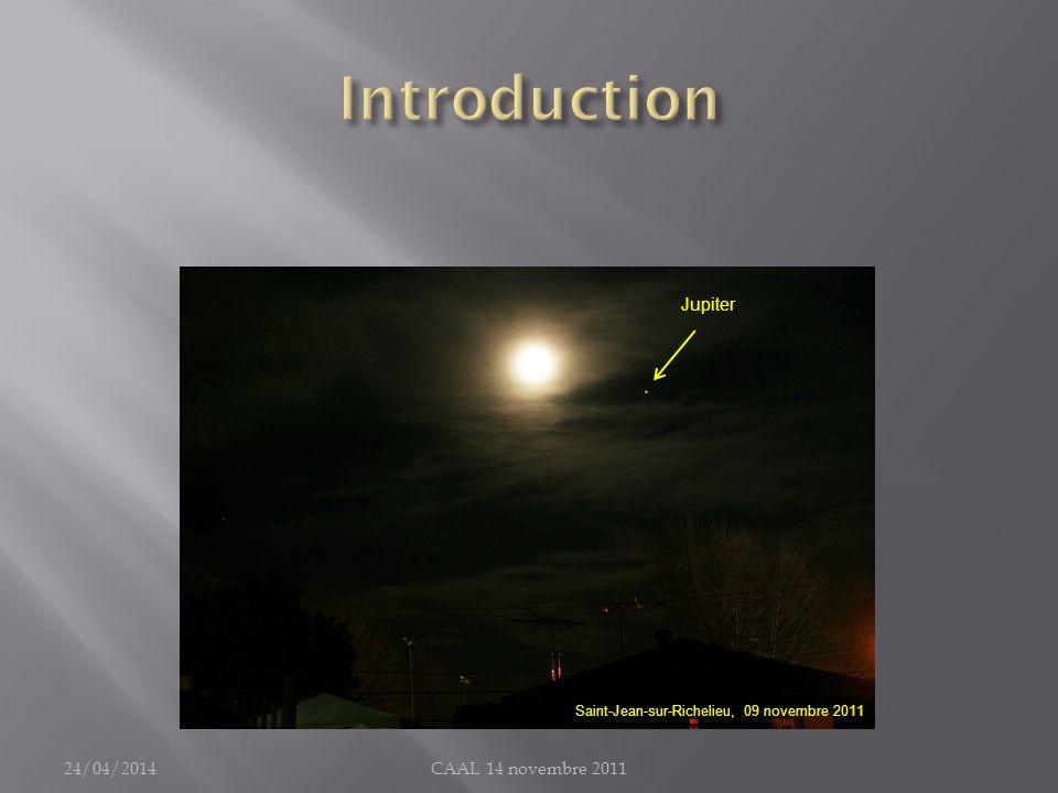 Introduction Jupiter 30/03/2017 CAAL 14 novembre 2011
