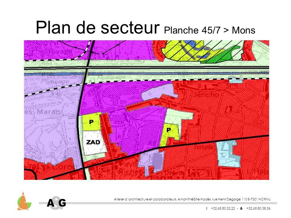 Plan de secteur Planche 45/7 > Mons
