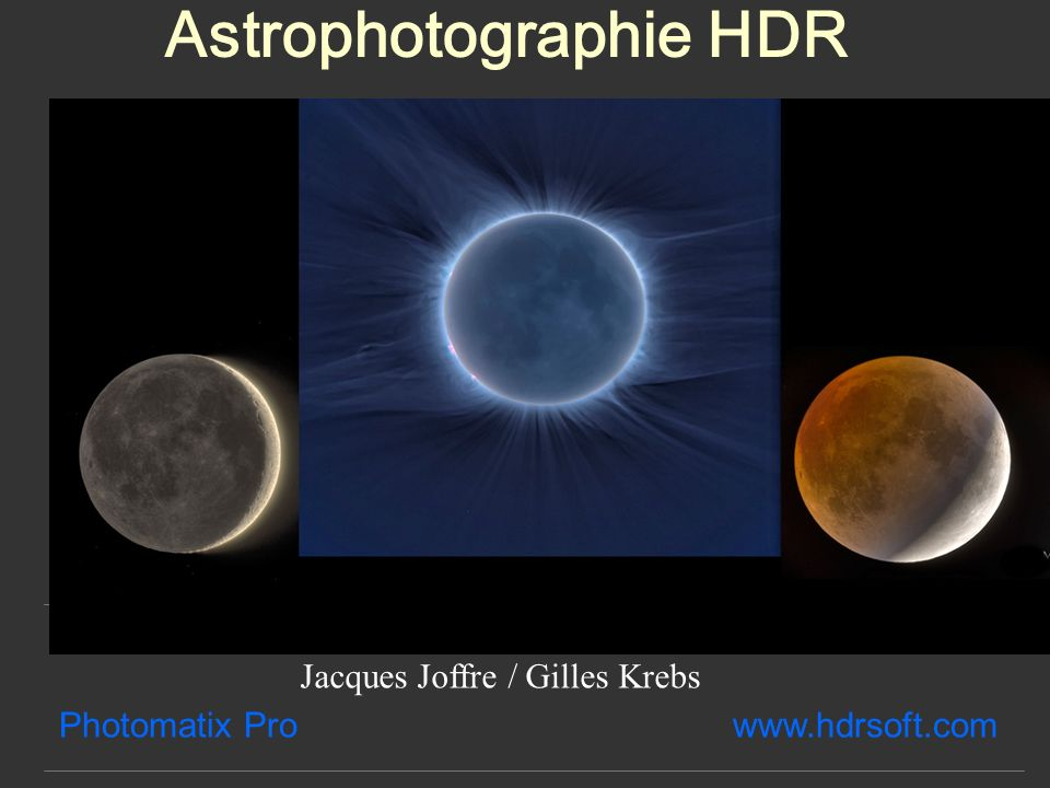 Astrophotographie HDR