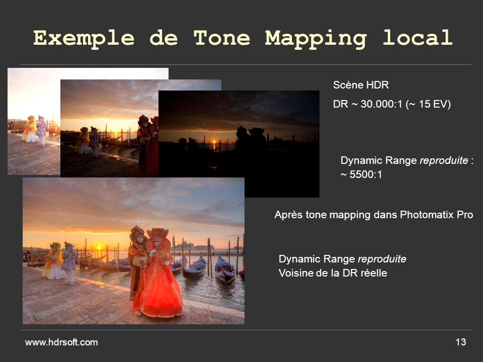Exemple de Tone Mapping local