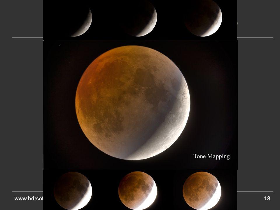 Avant l'éclipse de lune