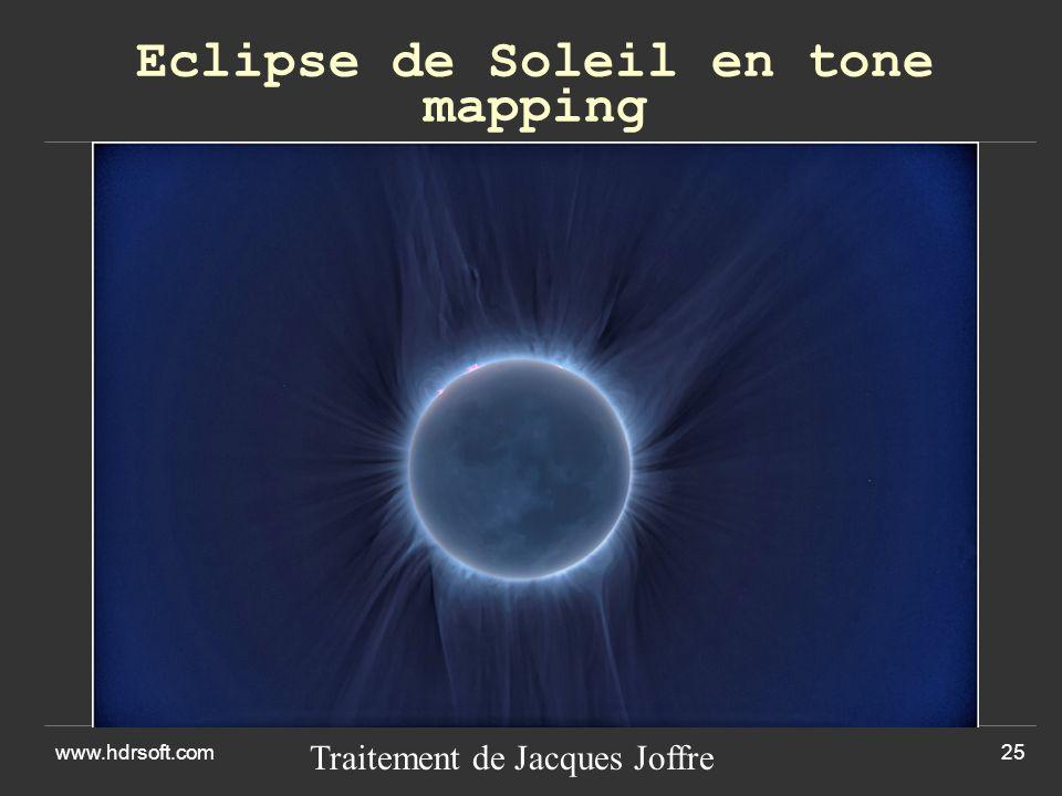 Eclipse de Soleil en tone mapping