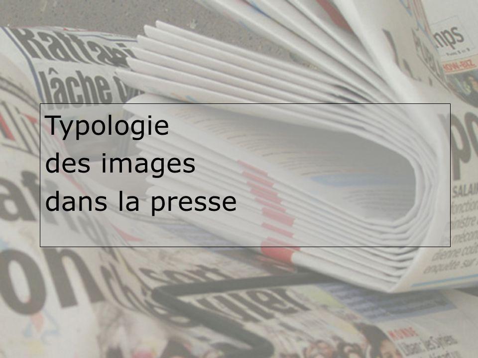Typologie des images dans la presse
