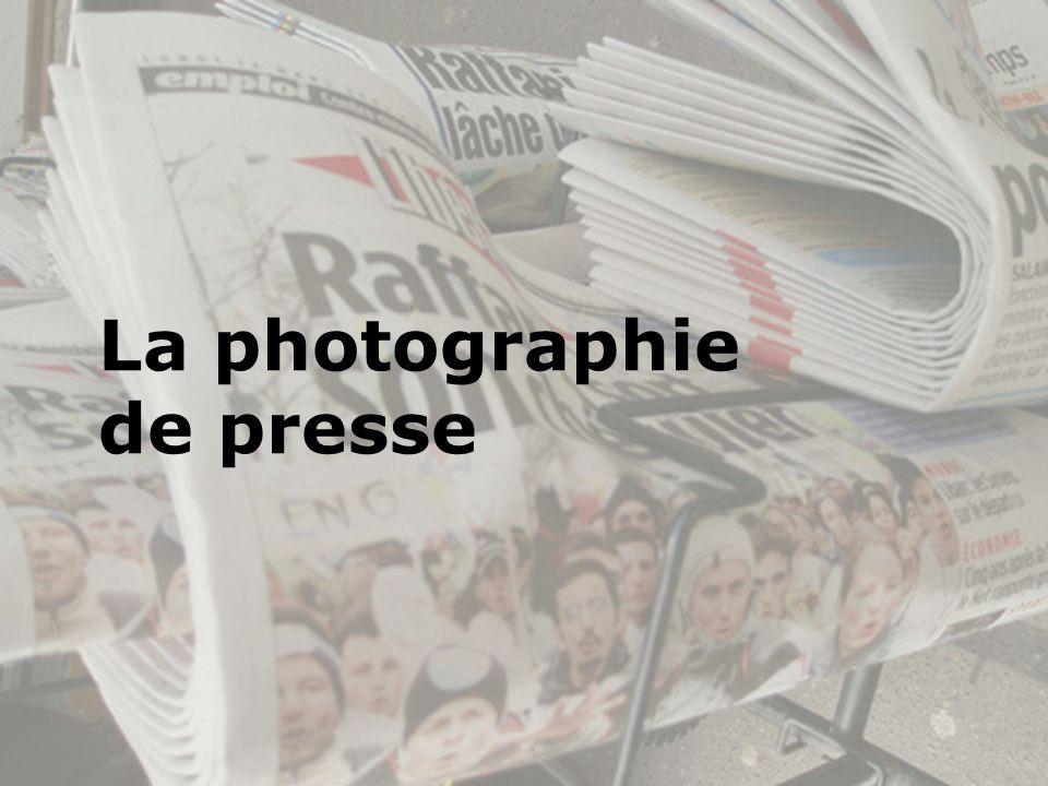 La photographie de presse